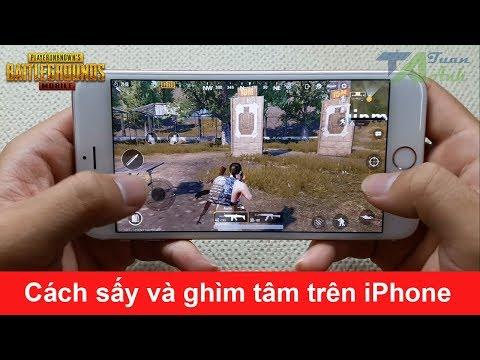 PUBG Mobile Cách sấy ghìm tâm và bắn như PRO trên iPhone