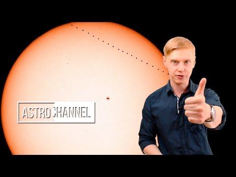 Прохождение Меркурия по диску Солнца 9 мая 2016 года
