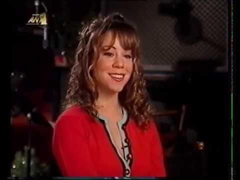 Mariah Carey - Christmas album promotion interview (1994)