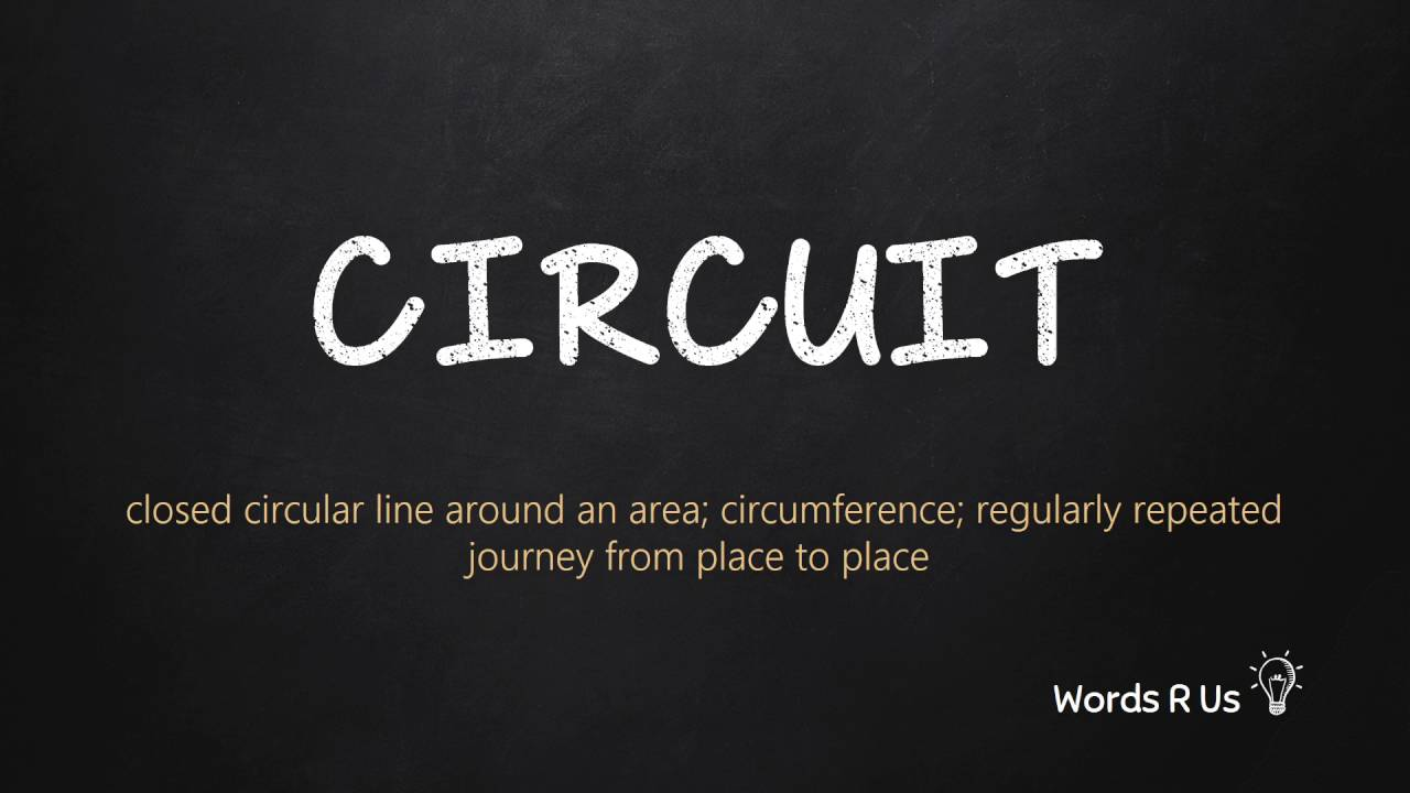How to Pronounce CIRCUIT in American English
