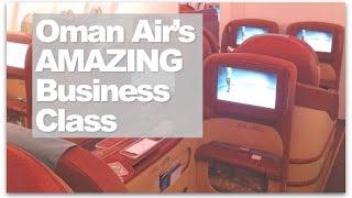 Oman Air Business Class   London ✈ Muscat ✈ Bangalore Business Class Reviewed