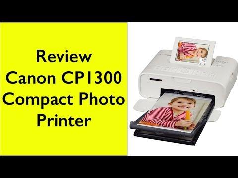 Review Canon CP1300 dye sublimation compact photo printer