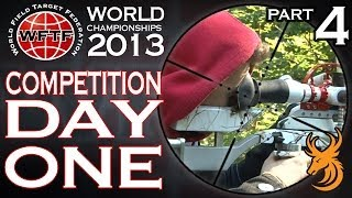 World Field Target Champs 2013: Competition - Day 1