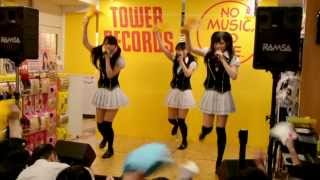 2013年6月6日 タワーレコード札幌ピヴォ店にて メンバー:浦谷はるな 青...