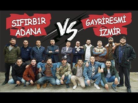 SIFIR B1R ADANA vs GAYRİ RESMİ İZMİR