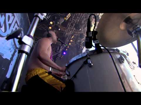 "Hoffmaestro - ""Highway man"" LIVE at Peace & Love 2010"