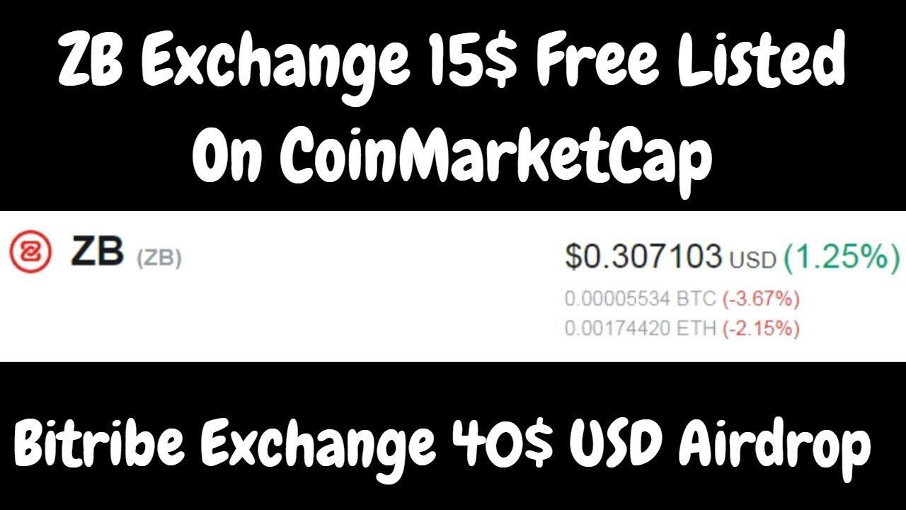 ZB Exchange 30 Coin Free Listed On CoinMarketCap | Bitribe Exchange 20$  Coin Free | BestEarningTips