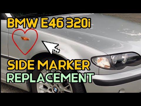 BMW E46 측면깜빡이 교체 DIY  (BMW e46 SIDE MARKER REPLACEMENT)