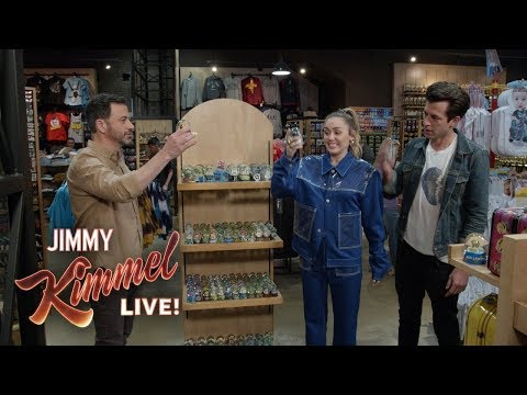 Jimmy Kimmel Helps Miley Cyrus & Mark Ronson with 'Nothing Breaks Like a Heart'