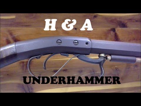Muzzle Loading Black Powder Underhammer Rifle 54 Cal.
