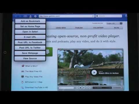 Alternative iPadiPhone Web Browser - Atomic Web Browser (Ep. 134)