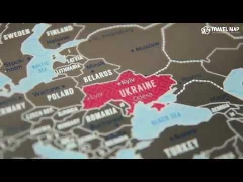 Политическая карта Украины. Как разделилась страна.