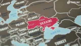 Travel Map - скретч-карты мира, Европы и Украины(Лучший подарок любому путешественнику - скретч-карта Travel Map. http://goo.gl/RYqHjZ., 2015-02-02T08:17:42.000Z)