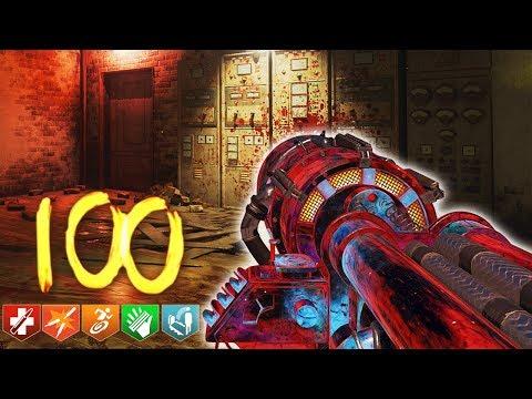 🎈 'KINO DER TOTEN' ROUND 100 FULL STRATEGY! (Rounds 85-100) 🎈 (Black Ops 3 Zombie DLC 5)