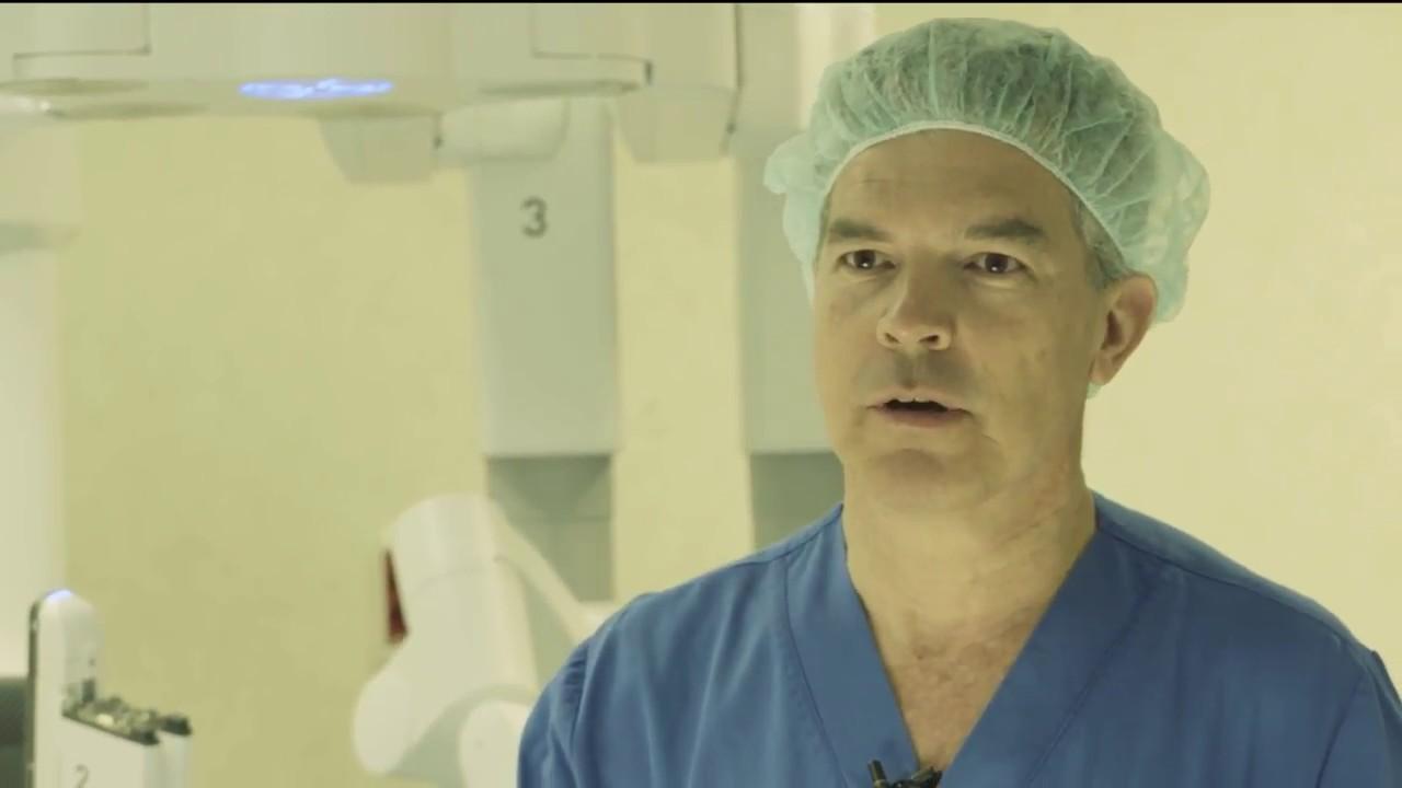 cirugía robótica de próstata bolonia dela