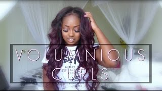 huge volumunious curls   amour jayda hair collection