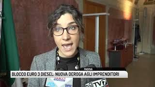 TG PADOVA (12/11/2018) - BLOCCO EURO 3 DIESEL: NUOVA DEROGA AGLI IMPRENDITORI