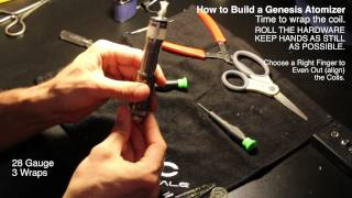 How To Build a Genesis Atomizer