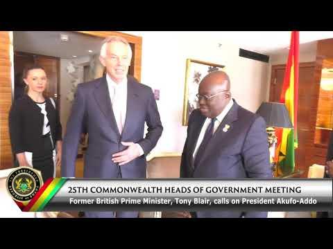 High powered UK leaders calls on Pres. Akufo-Addo