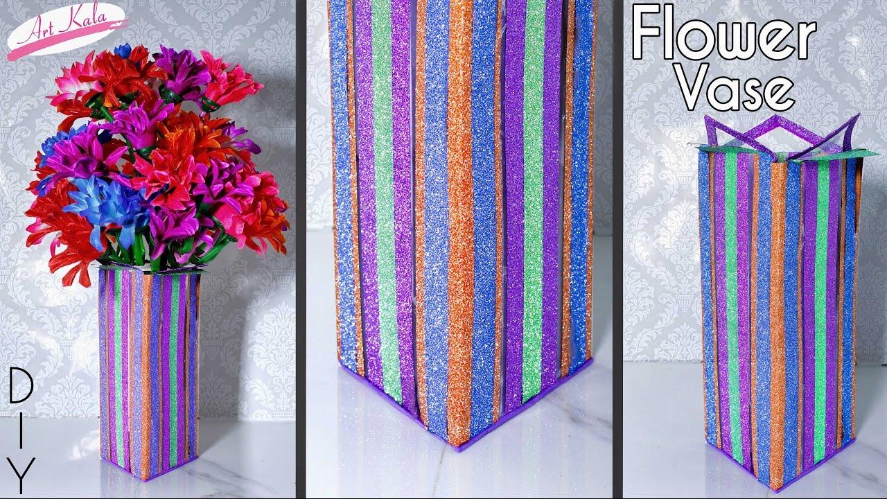 How To Make Flower Vase Transparent Paper Ohp Sheet