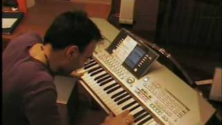 Tiësto - Adagio for Strings + Faithless Insomnia + Elements + Love comes again - keyboard piano LIVE