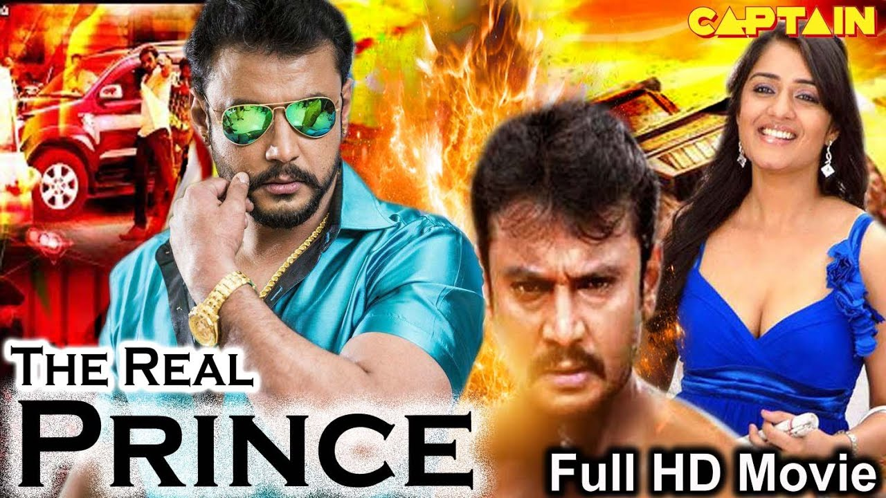 The Real Prince || HD Hindi Dubbed Action Movie|| Darshan, Nikita Thukral