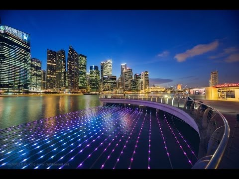 Virtual Photo Walks at the Singapore Harbor (edited version)