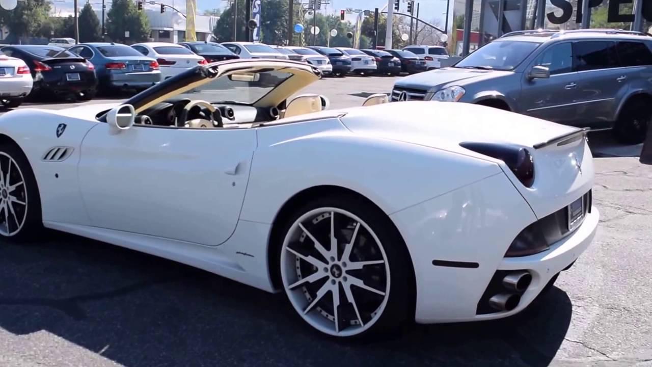 Ferrari California Custom Exhaust Loud Revs and Walkaround ...