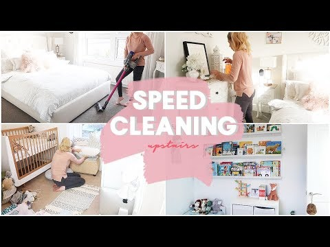 SPEED CLEANING | UPSTAIRS | GET ORGANISED WEEK