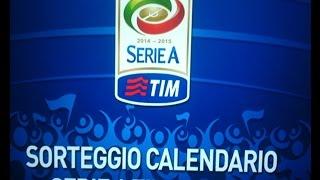 Calendario Serie A 2014-2015