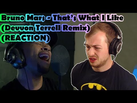 Bruno Mars - That's What I Like (Devvon Terrell Remix) (REACTION)