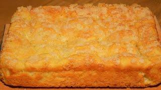 Сахарный пирог безумно вкусный и простой