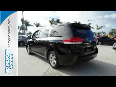 High Quality 2012 Toyota Sienna West Palm Beach Juno, FL #FB055234A   SOLD
