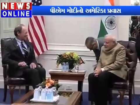 Narendra Modi meeting with American businessman in America