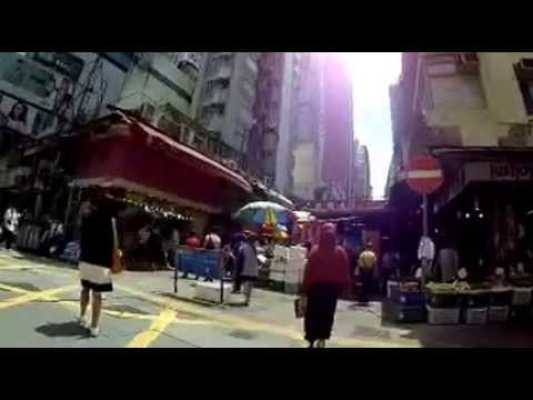 North point , Hongkong walking