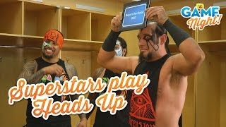 WWE Superstars play Heads Up!: WWE Game Night