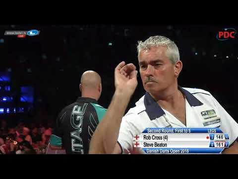2018 Danish Darts Open Round 2 Cross vs Beaton