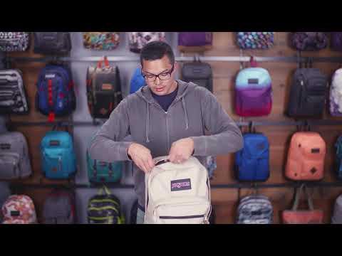 JanSport Disney Right pack SE Stealth Mickey - YouTube 1485b3015794b