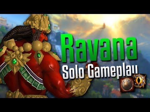 Smite: Double Shields!- Ravana Solo Gameplay
