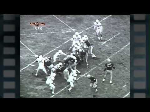 Big Ten Film Vault: 1958 Yearbook - Iowa Season Recap