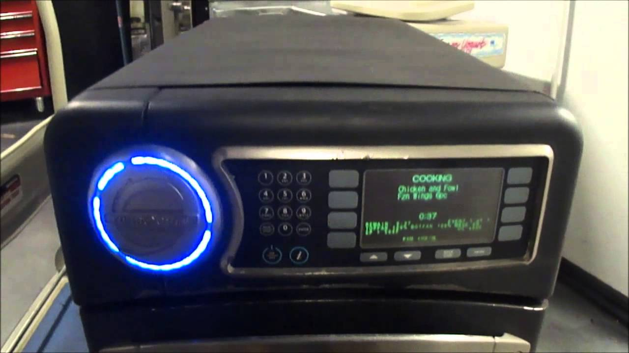 Turbochef Ngo Sota 2010 Model High Speed Microwave