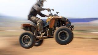 Crazy quad bike stunts and jumps compilation