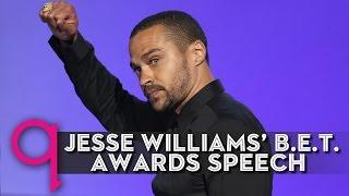 jesse williams passionate bet awards speech