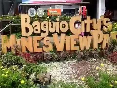 Mines View Park, Baguio City  - Tourist Spot In Baguio City
