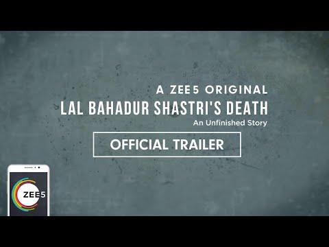 Lal Bahadur Shastri's Death | Official Trailer | A ZEE5 Original | Premieres 15th August on ZEE5