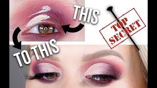 TOP SECRET Trick for an EASY & FAST Cut Crease!! | Allison Wilburn MUA
