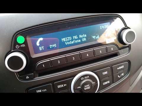 Подключение телефона к автомобилю через Bluetooth (блютуз) | Ravon R2 | Равон Р2