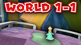Super Mario 3D World custom level, but the only asset is Super Bell Hill