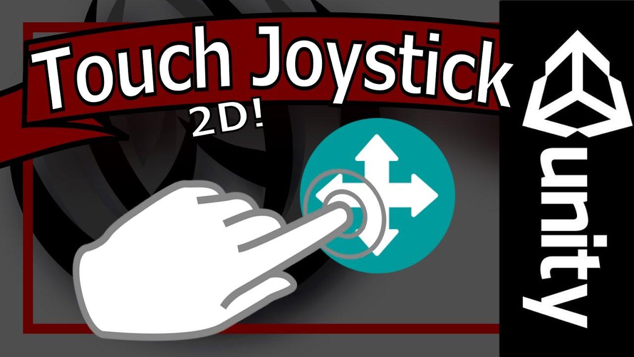 Unity 5 Mobile Joysticks Tutorial - Touch Input 2D Spaceship Controller