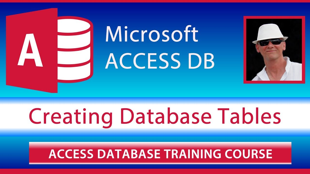 Create Database Tables Tutorial for Microsoft Access 2019 and 2016